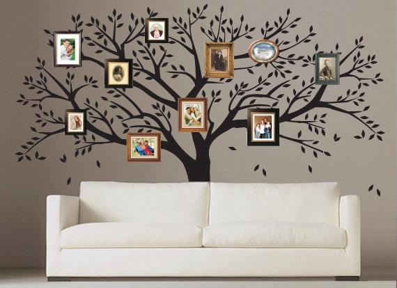 Image result for wall decals family tree