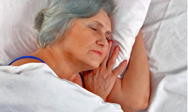 Sleeping well will avoid a nursing home