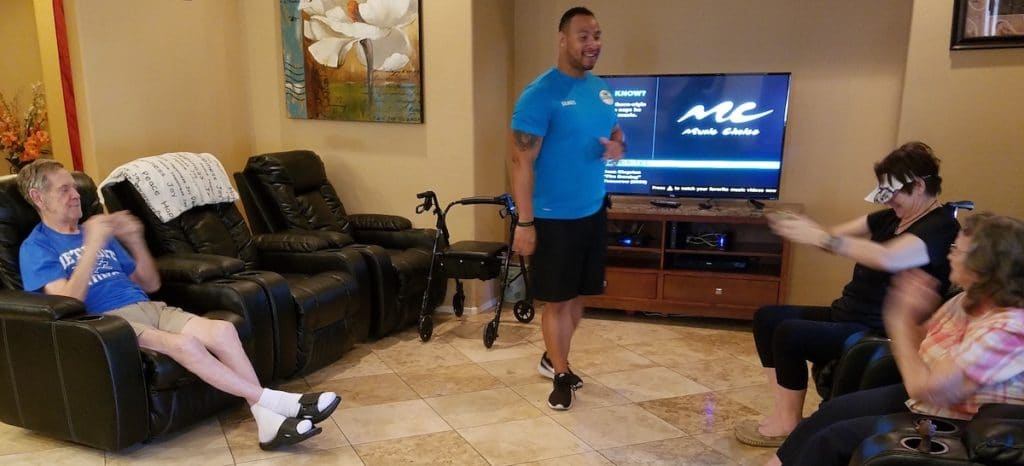 Fitness is an important part of avoiding a nursing home