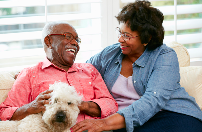 Pets for the Elderly bring smiles