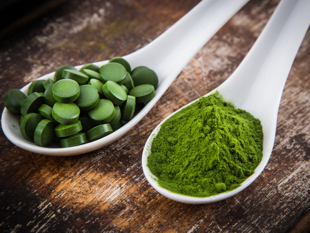 Spirulina and Chlorella are the best algae for seniors