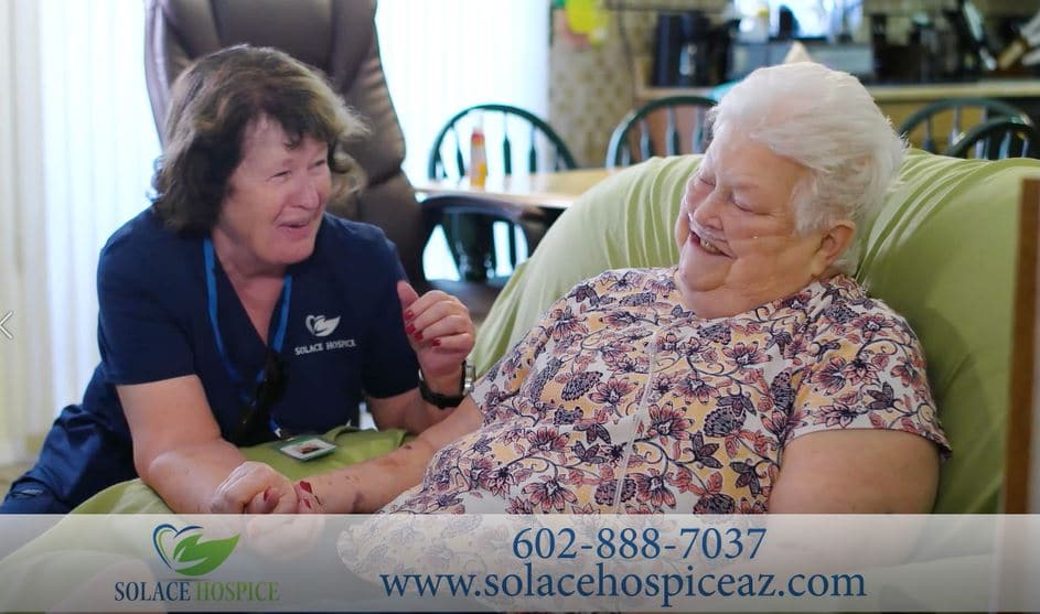 Solace Hospice in Surprise and Goodyear provides family support