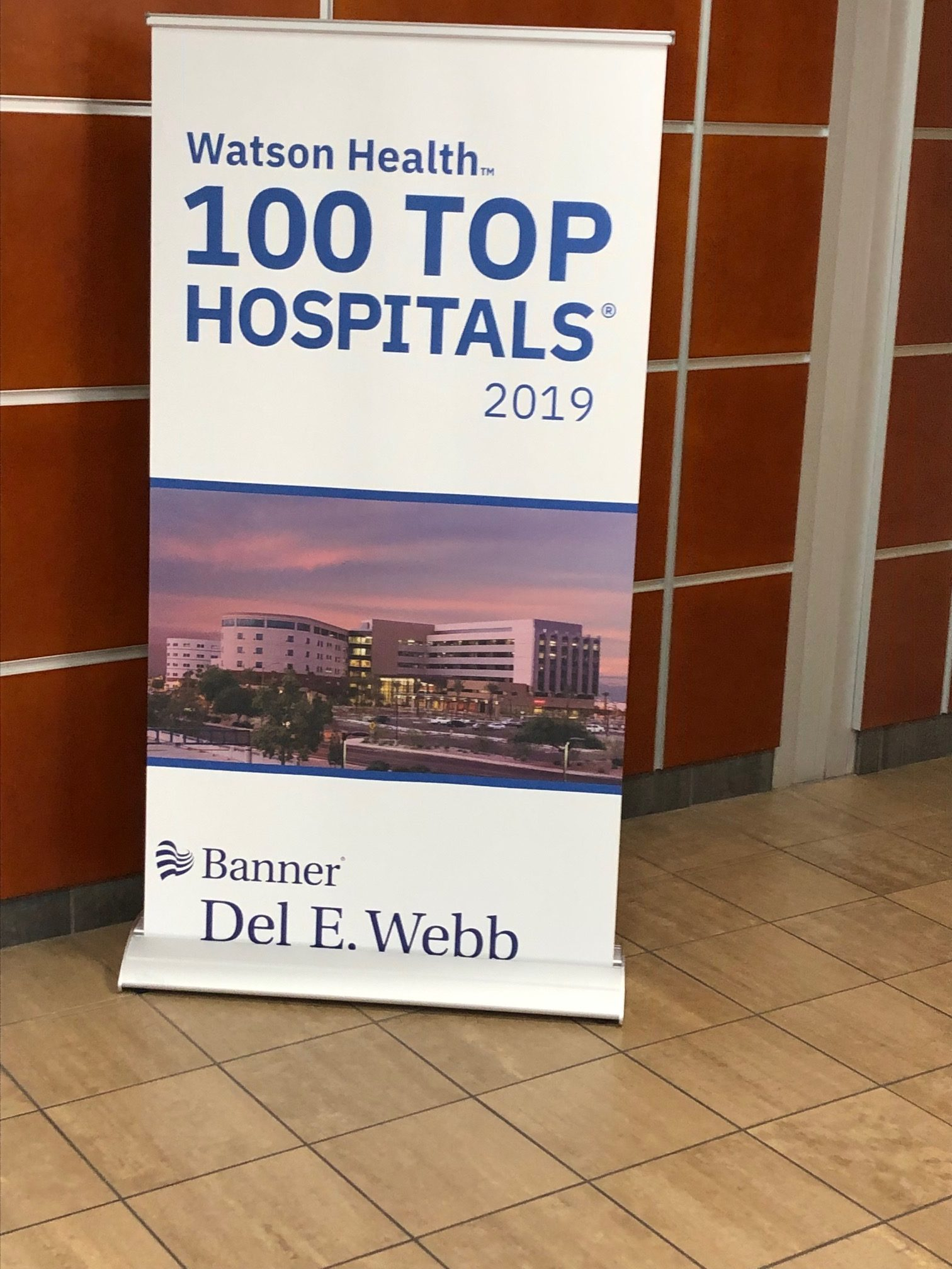 Banner Del Webb is one of the Top 100 Hospitals in the country