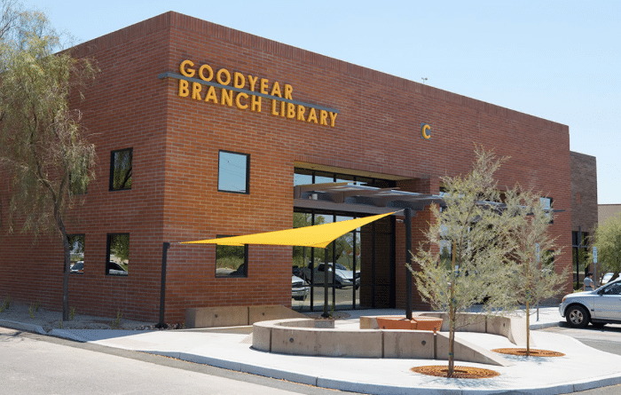 The Goodyear public Library is always looking for volunteers