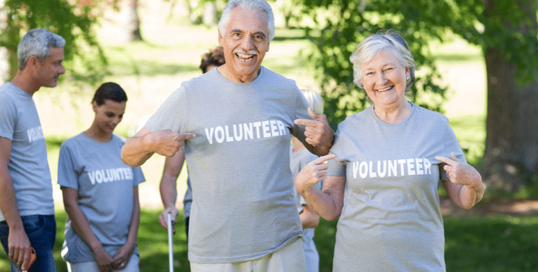 Senior volunteer opportunities are everywhere