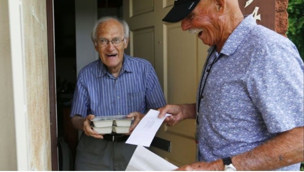 Seniors are often surprised when meals are delivered