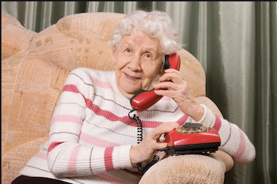 Common senior scams involve phone calls