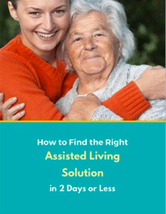Our senior resource - a free report on finding a good assisted living home