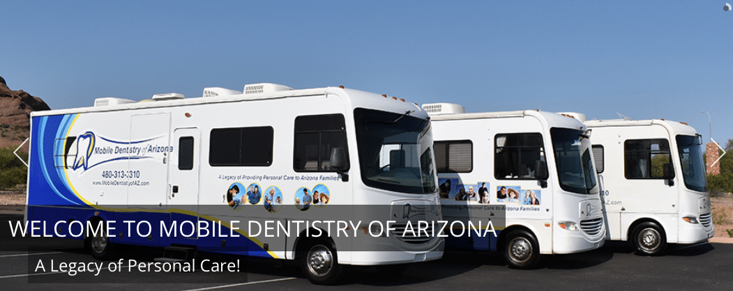 Mobile Dentists use RVs