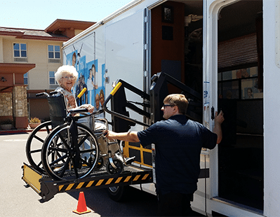Mobile Dentistry of Arizona has wheelchair accessible RVs