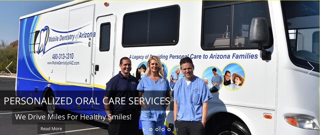 Mobile Dentists really help the elder population in Arizona