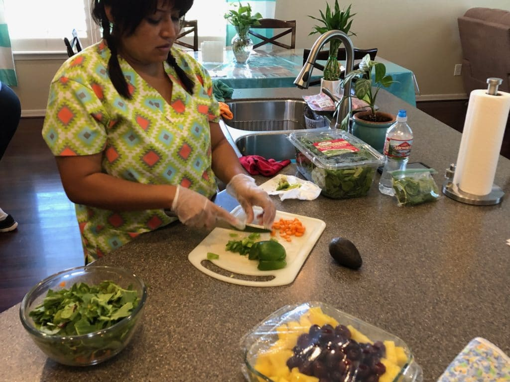 Healthy meals help our residents