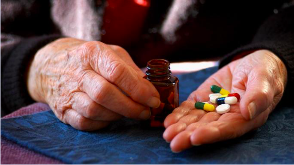 Elderly people take a lot of drugs..and may have a lot of side effects